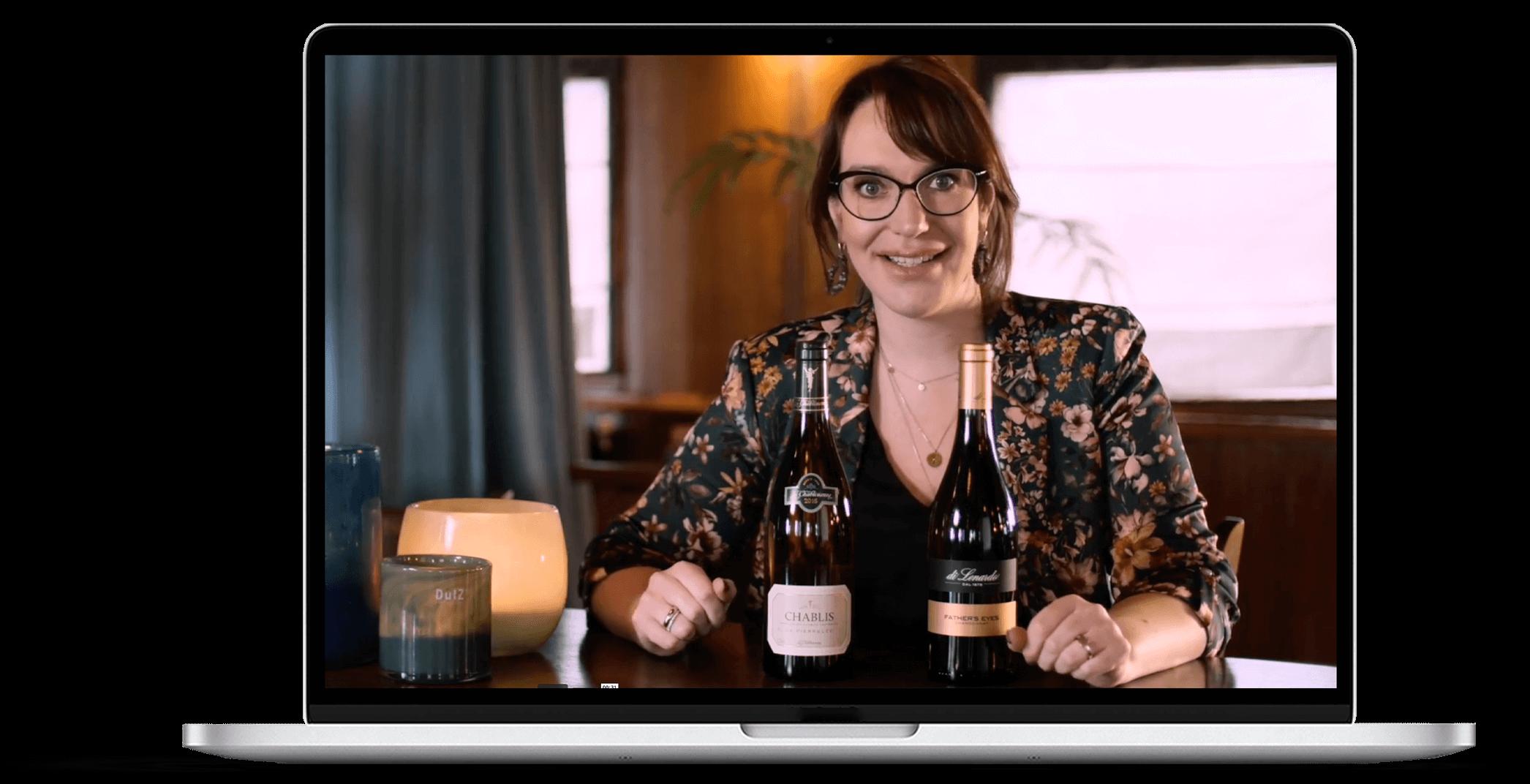 Online wijncursus om vol zelfvertrouwen wijn te kiezen, vinonista